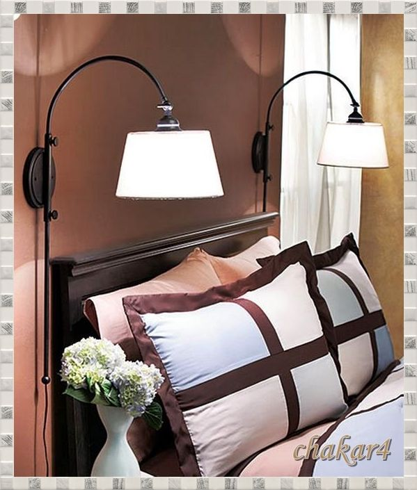 proper bedroom lamp height photo - 7