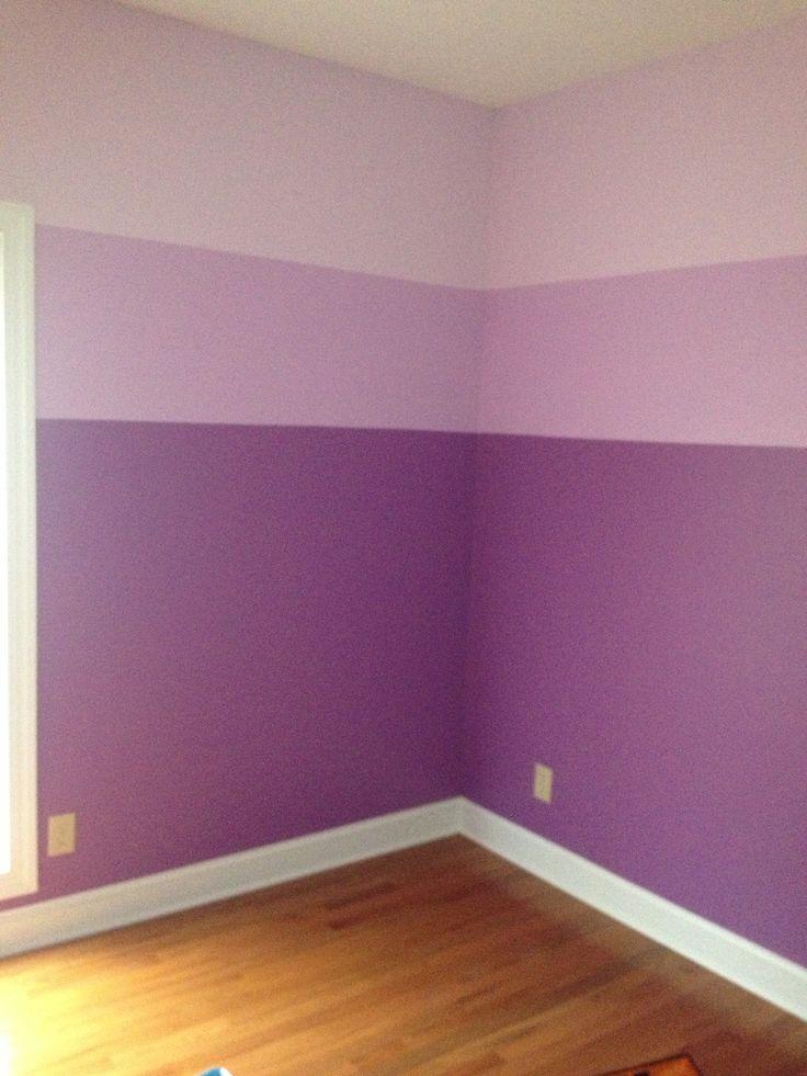 purple painted rooms photo - 2
