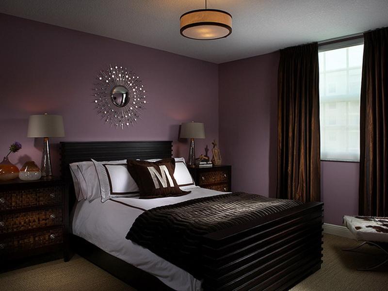 purple painted rooms photo - 3