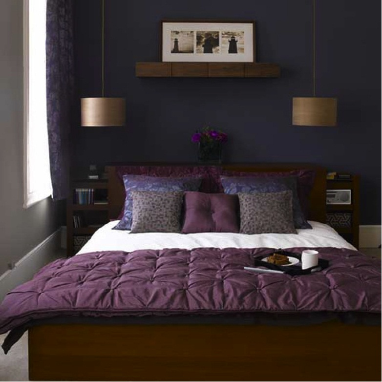 purple painted rooms photo - 9