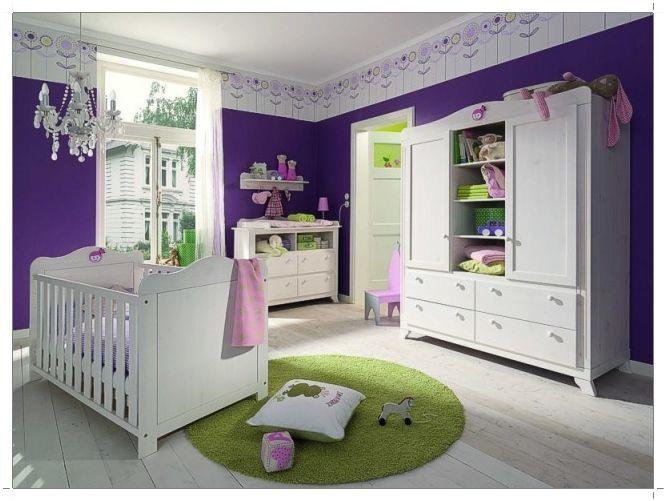 purple room color scheme photo - 7
