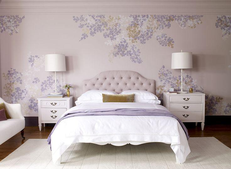 purple room color scheme photo - 9