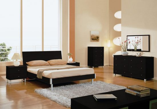 quality black bedroom furniture photo - 8