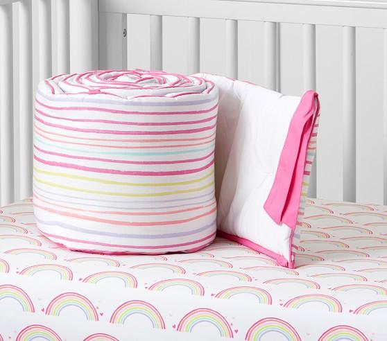 rainbow baby bedding photo - 9