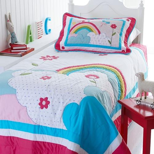 rainbow bedding for girls photo - 4
