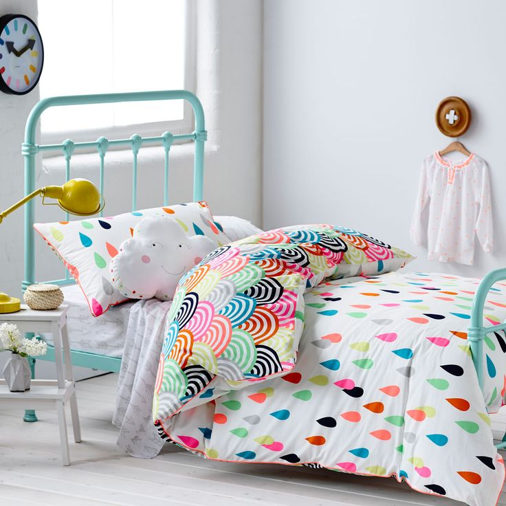 rainbow bedding for kids photo - 8