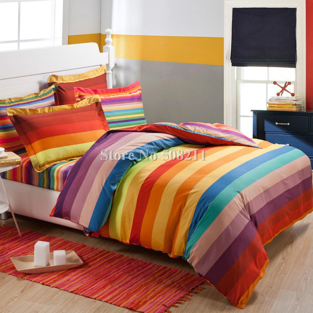 rainbow bedding full photo - 1