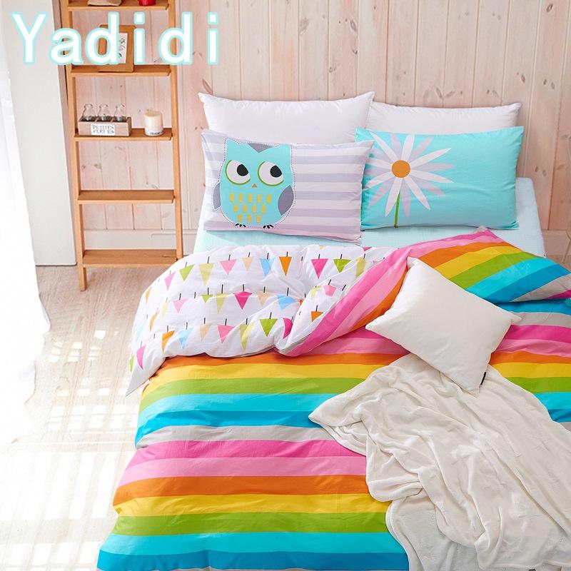 rainbow bedding full photo - 6