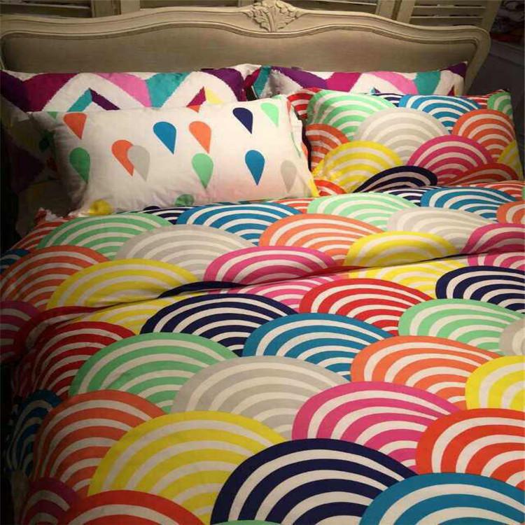 rainbow bedding full photo - 7