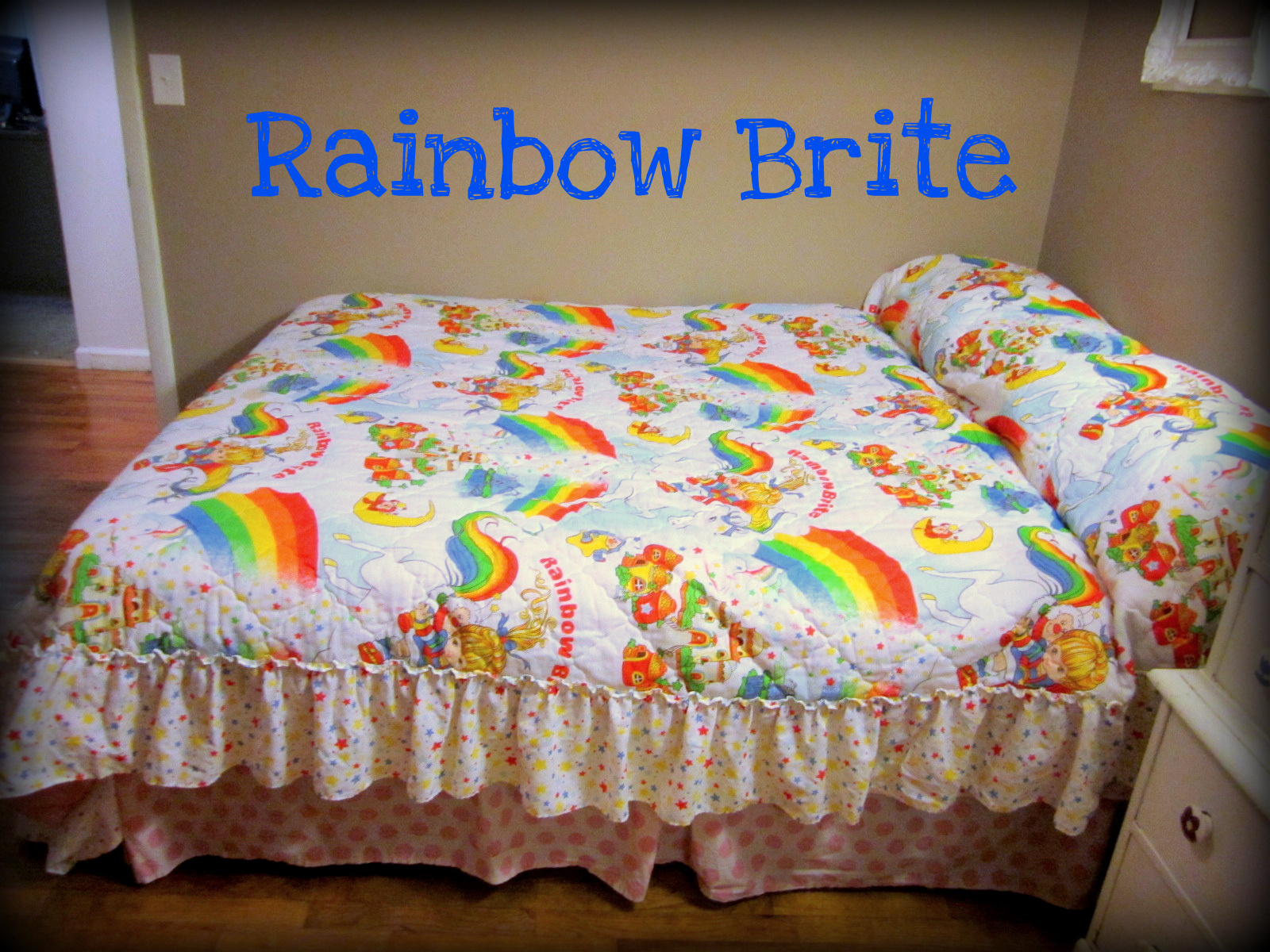 rainbow bright bedding photo - 1