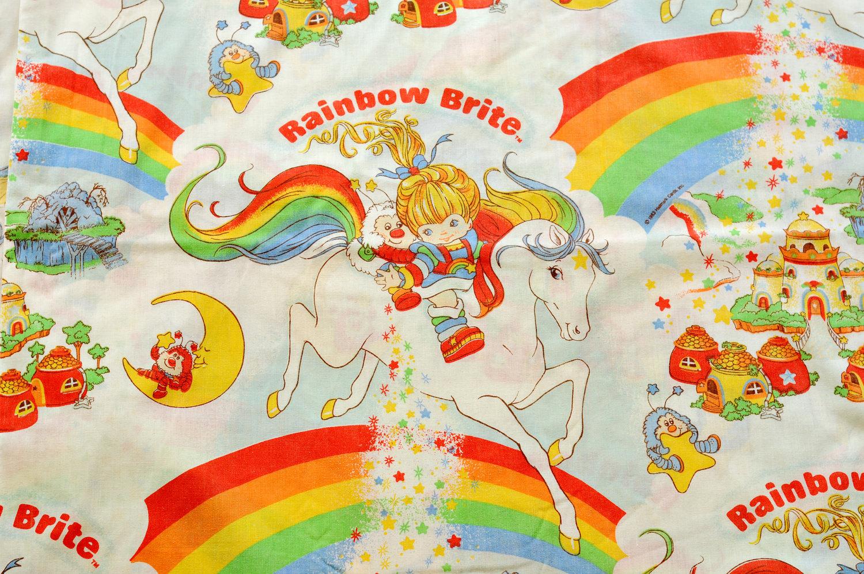 rainbow bright bedding photo - 10