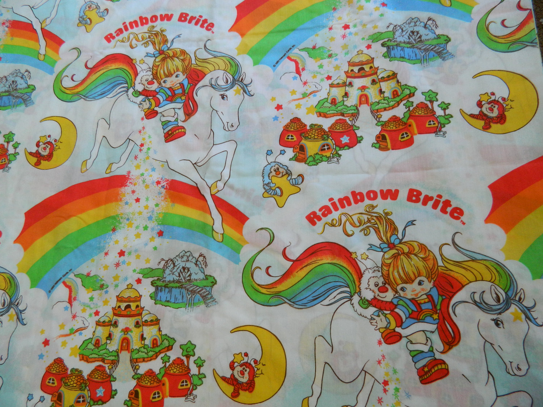 rainbow bright bedding photo - 3