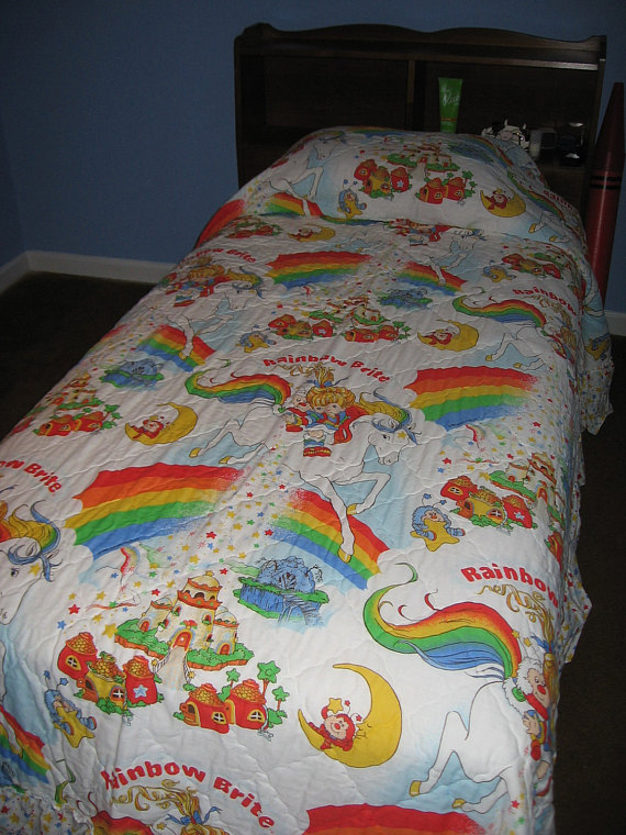 rainbow bright bedding photo - 4