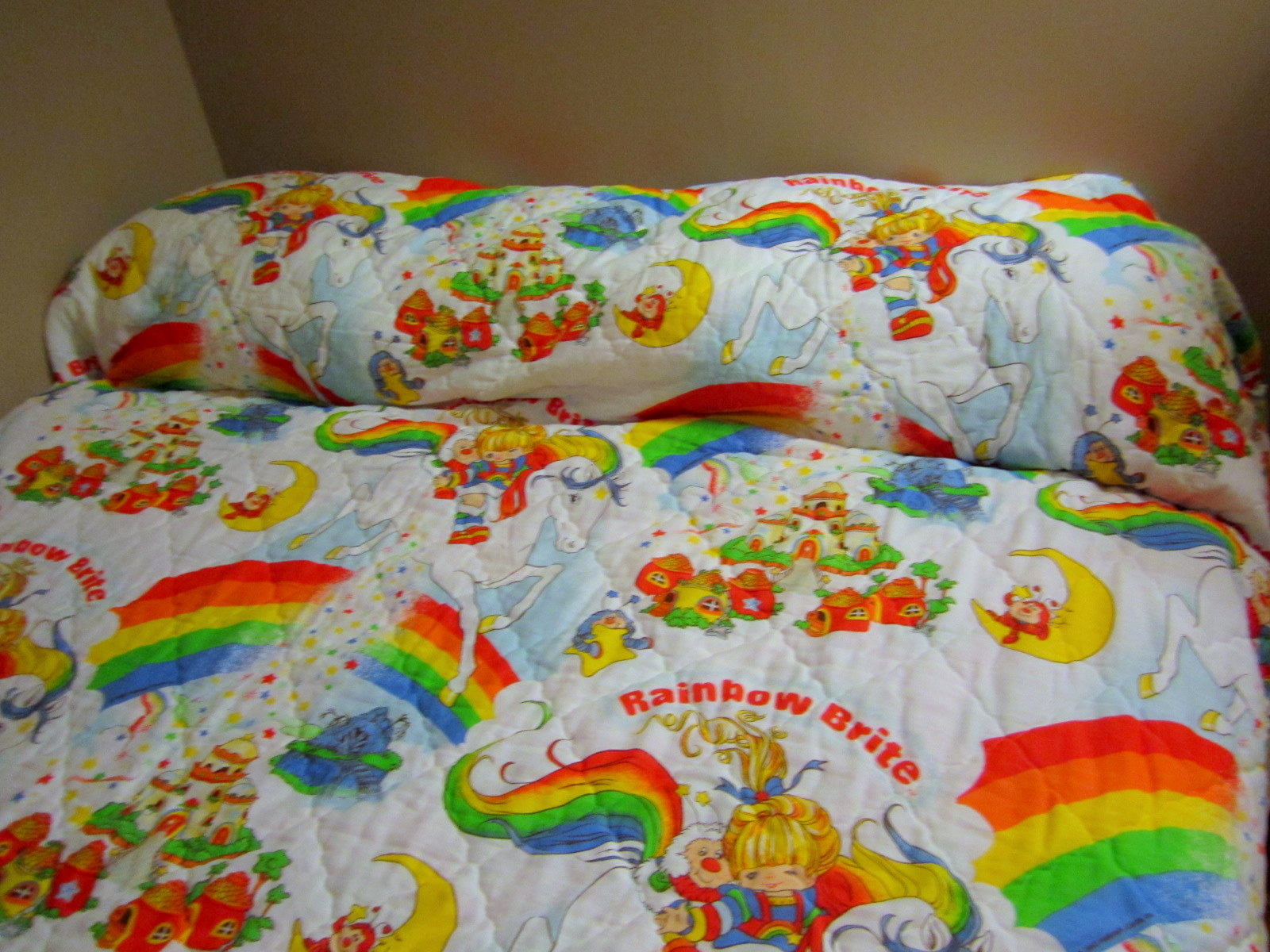 rainbow bright bedding photo - 5