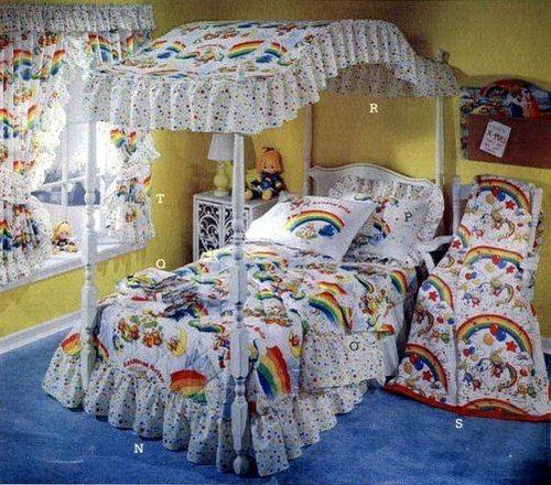 rainbow bright bedding photo - 6