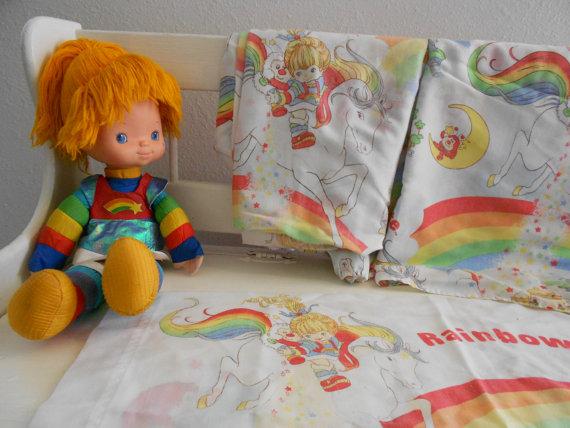 rainbow bright bedding photo - 8