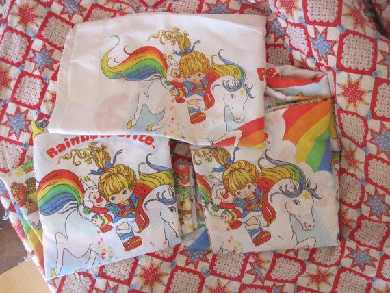 rainbow bright bedding photo - 9