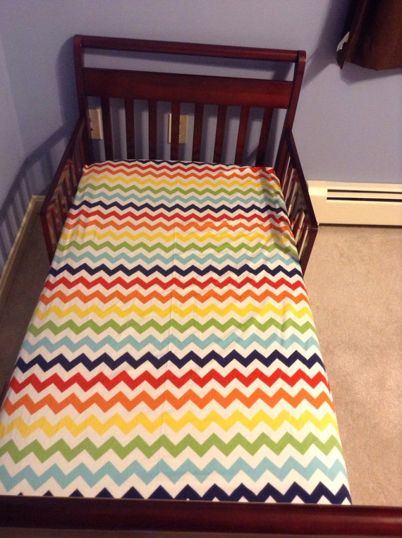 rainbow crib bedding photo - 7