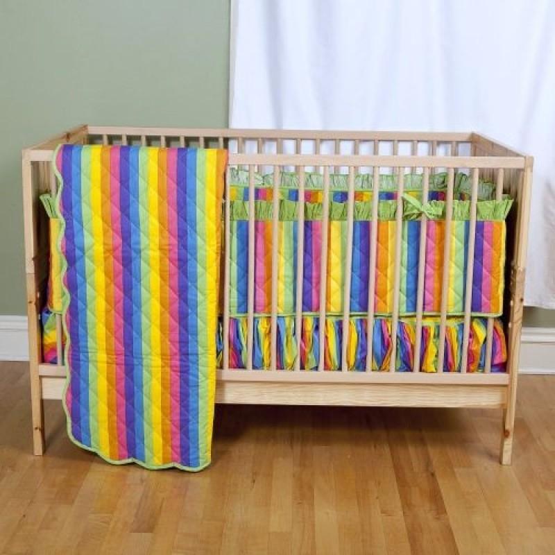 rainbow fish bedding for crib photo - 4