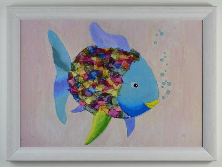 rainbow fish bedding for crib photo - 8
