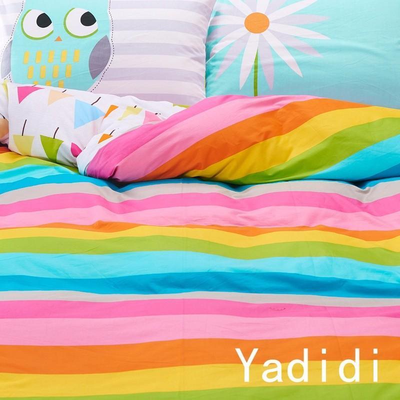 rainbow fish bedding set photo - 10