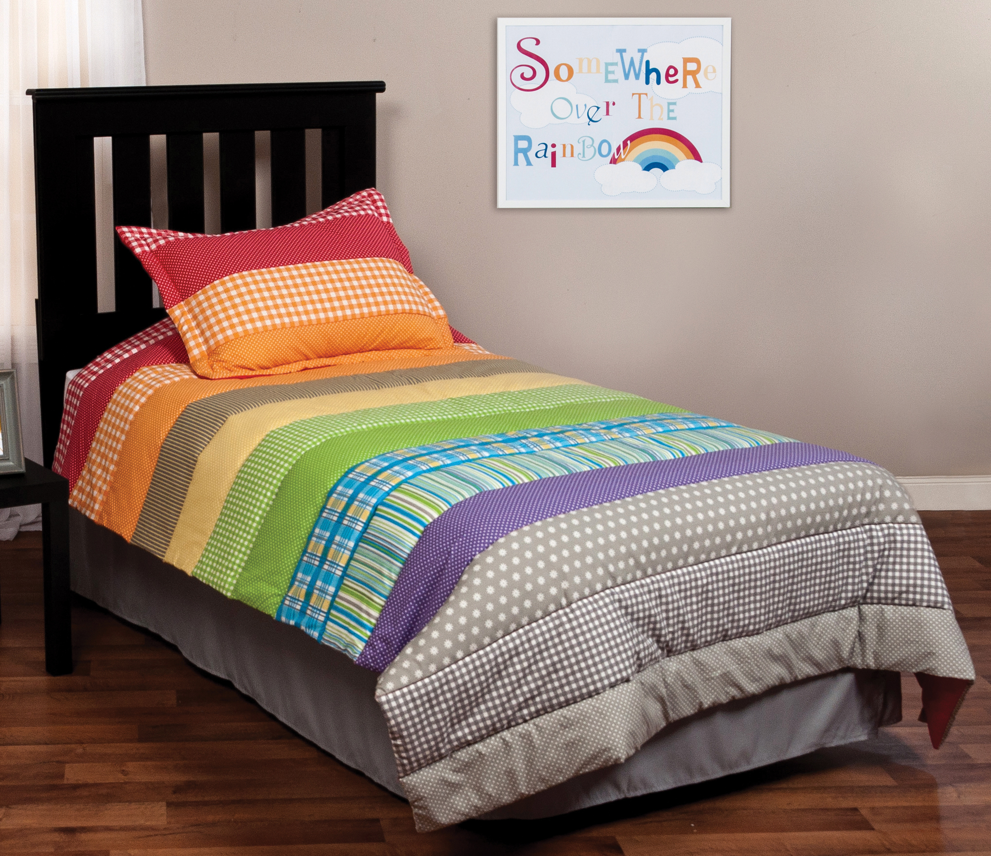 rainbow fish bedding set photo - 7