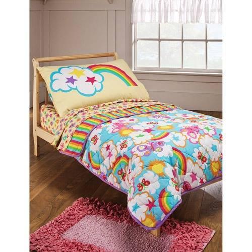 rainbow flower bedding photo - 1