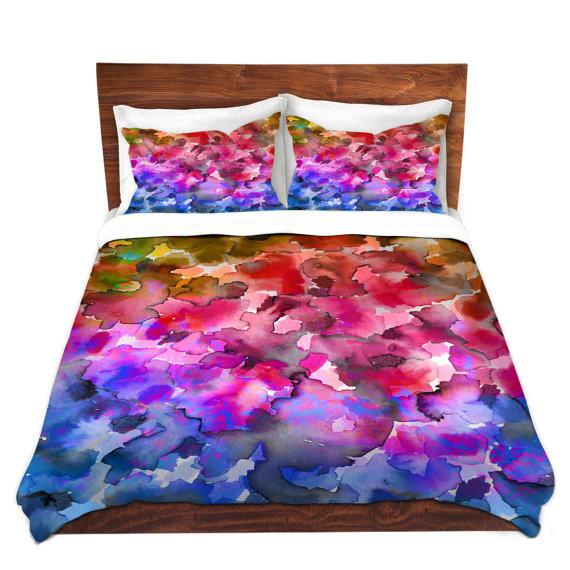 rainbow flower bedding photo - 10