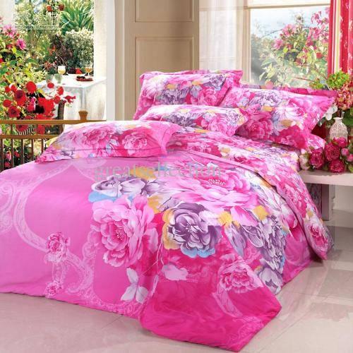 rainbow flower bedding photo - 3