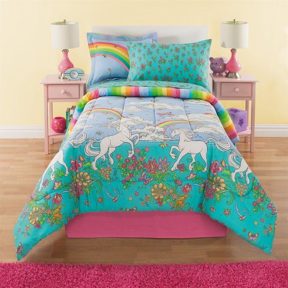 rainbow flower bedding photo - 5