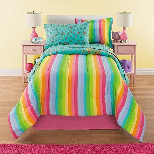 rainbow flower bedding photo - 9