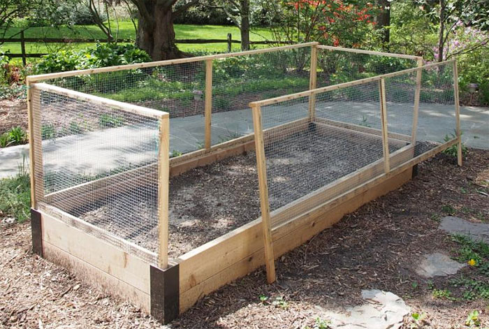 raised bed garden fencing ideas photo - 6