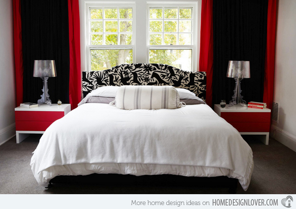 Red And Black Bedroom Designs Hawk Haven Enchanting Red White Bedroom Designs
