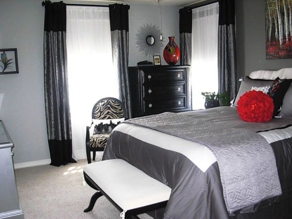 red bedroom furniture ideas photo - 10