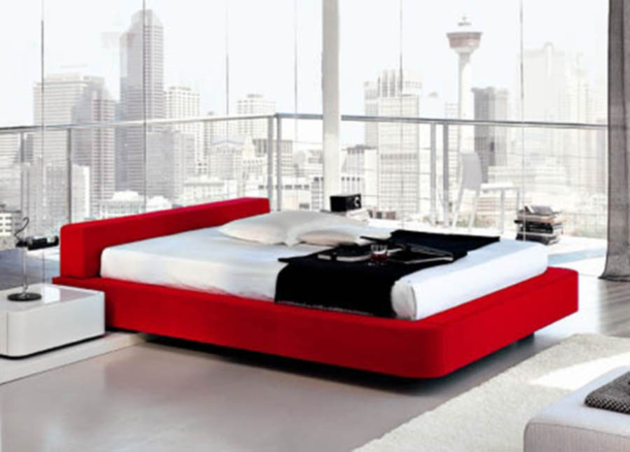 red bedroom furniture ideas photo - 4