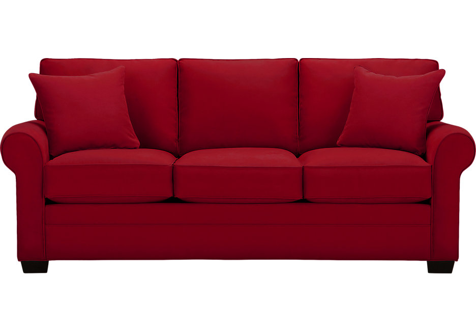 Red Sectional Sleeper Sofa Photo   9