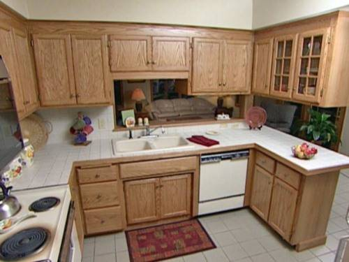refinishing kitchen cabinets gel stain photo - 4