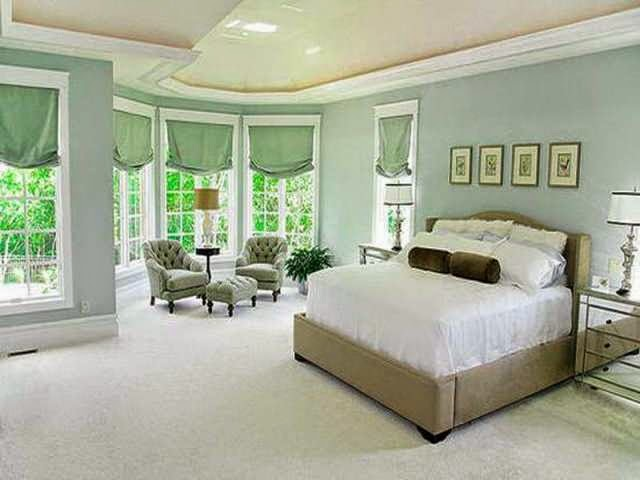 relaxing wall paint colors photo - 1