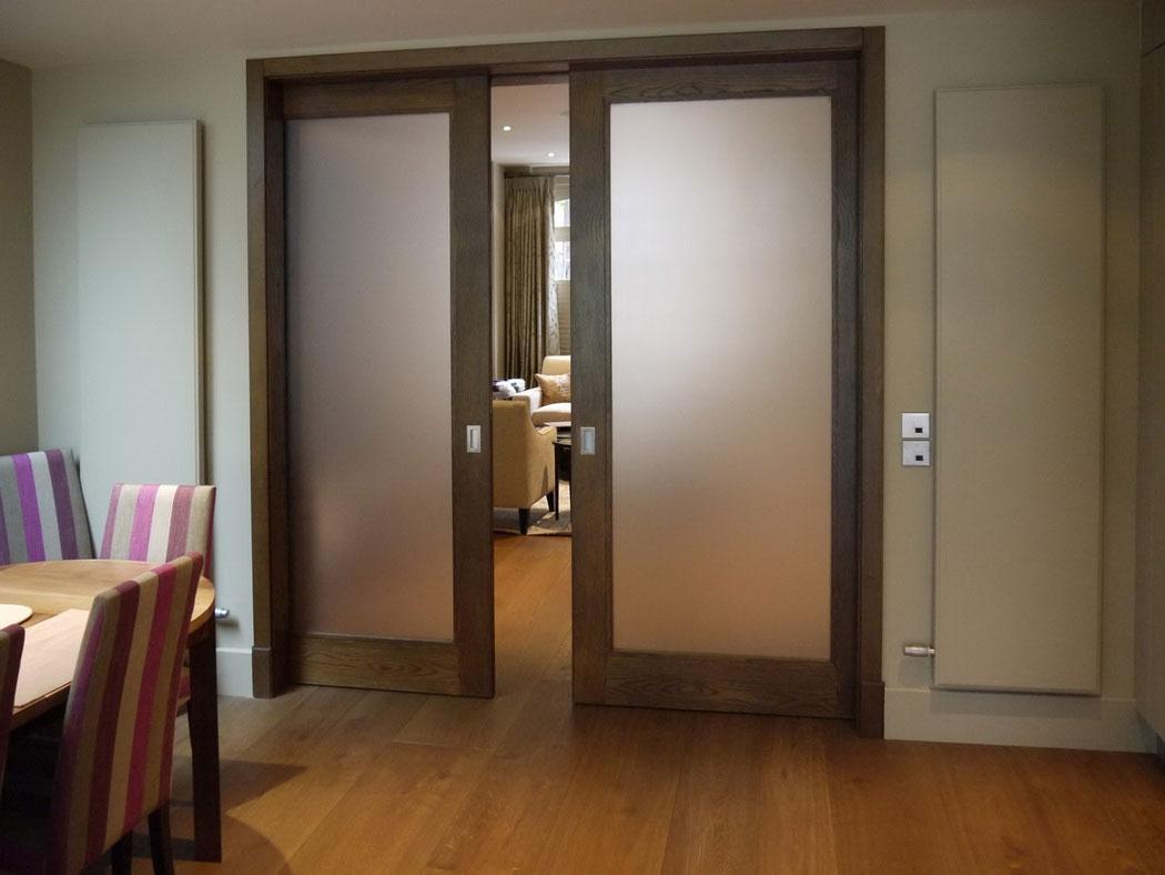 removing interior sliding doors photo - 3