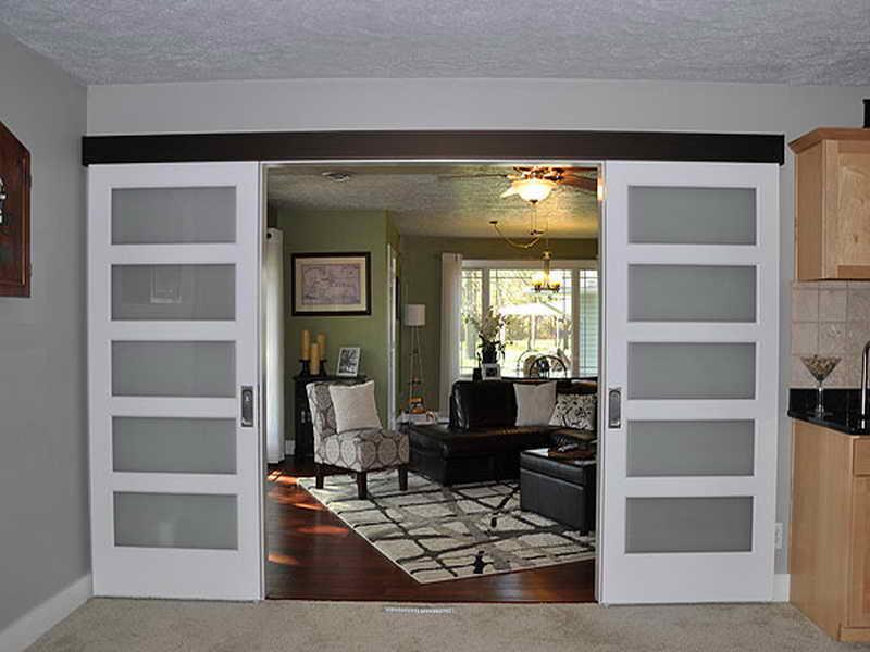 removing interior sliding doors photo - 6