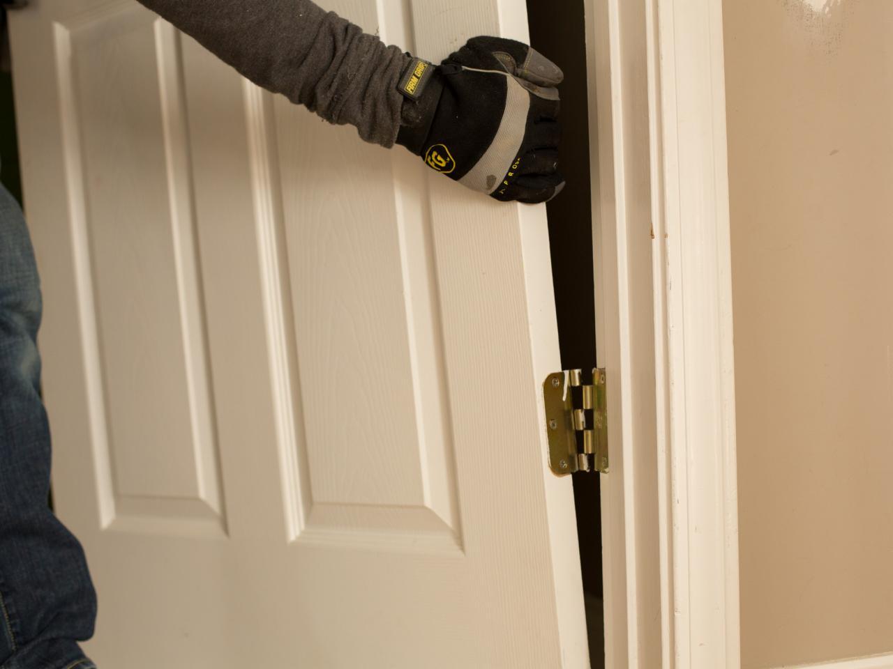 removing interior sliding doors photo - 9