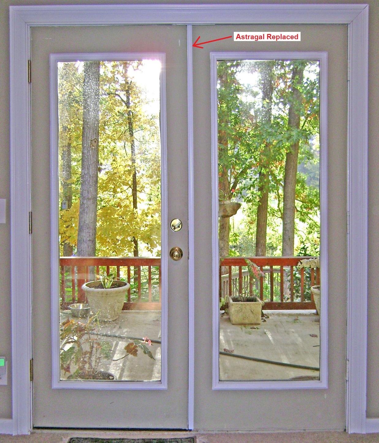 replacing interior french doors photo - 10