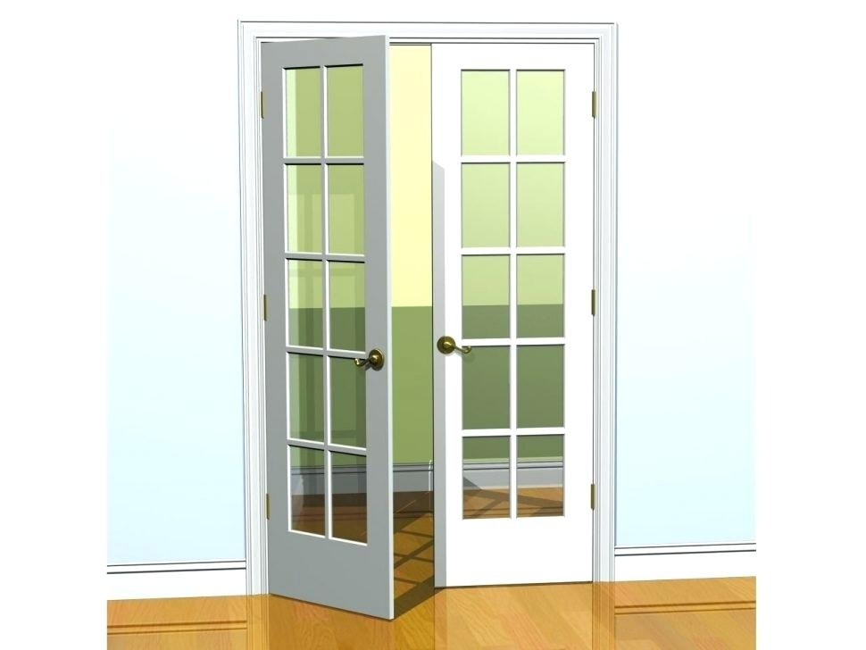 replacing interior french doors photo - 3