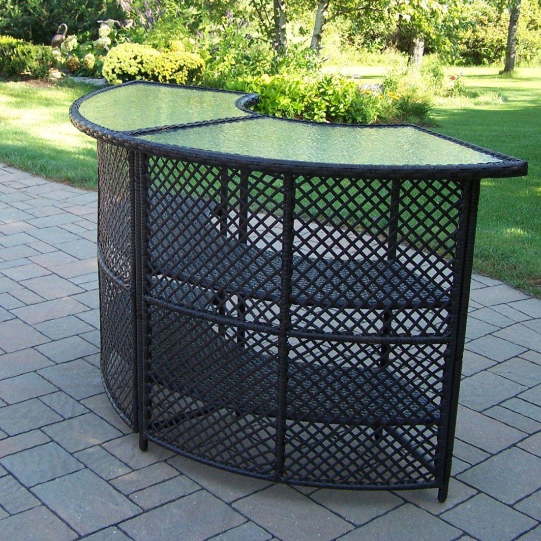 resin outdoor bar sets photo - 1