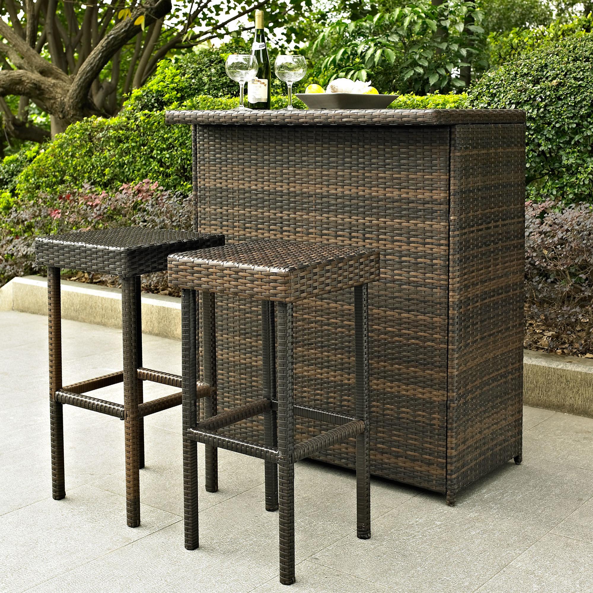 resin outdoor bar sets photo - 2
