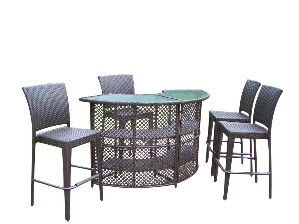 resin outdoor bar sets photo - 4