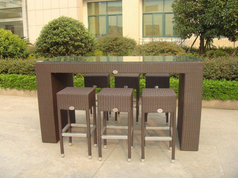 resin outdoor bar sets photo - 8
