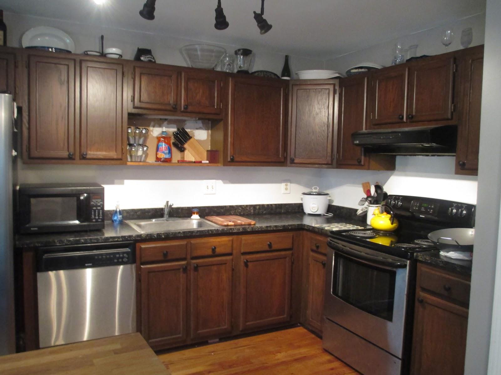 Restaining Kitchen Cabinets Gel Stain