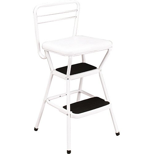 retro kitchen chair with step stool photo - 8