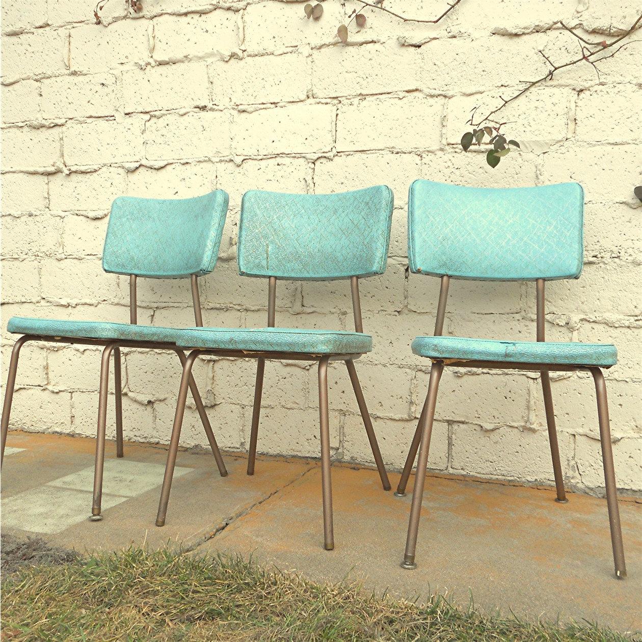 retro kitchen chairs photo - 10